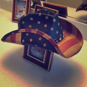 American straw hat brand new OS perfect condition